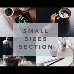 Accessories - Small Sizes Collection